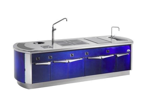 Küchen Blau